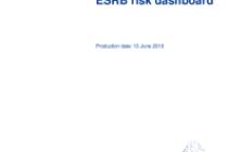 ESRB risk dashboard, June 2019