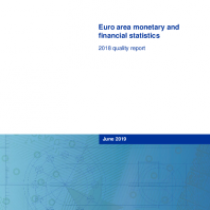 Euro area monetary and financial statistics – 2018 quality report