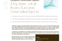 European Conservative Equities strategy