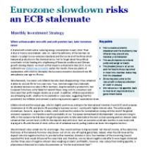 Eurozone slowdown risks an ECB stalemate