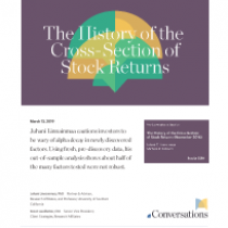 he History of the Cross-Section of Stock Returns
