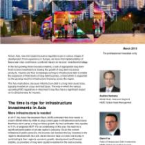 Infrastructure debt Insurance regulations in Asia