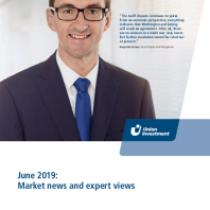 June 2019: Market news and expert views