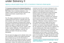Long-term Equity Investments under Solvency II