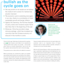 Market Insights Q2 2019 – Outlook Remaining Bullish as the cycle goes on
