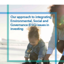 Our approach to integrating Environmental, Social and Governance (ESG) issues in investing