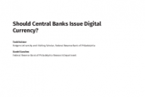 Should Central Banks Issue Digital Currency?
