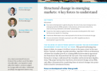 Structural change in emerging markets