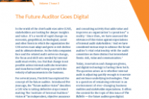 The Future Auditor Goes Digital