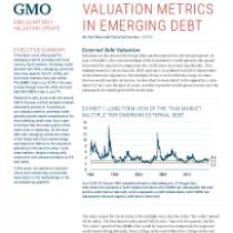Valuation Metrics In Emerging Debt