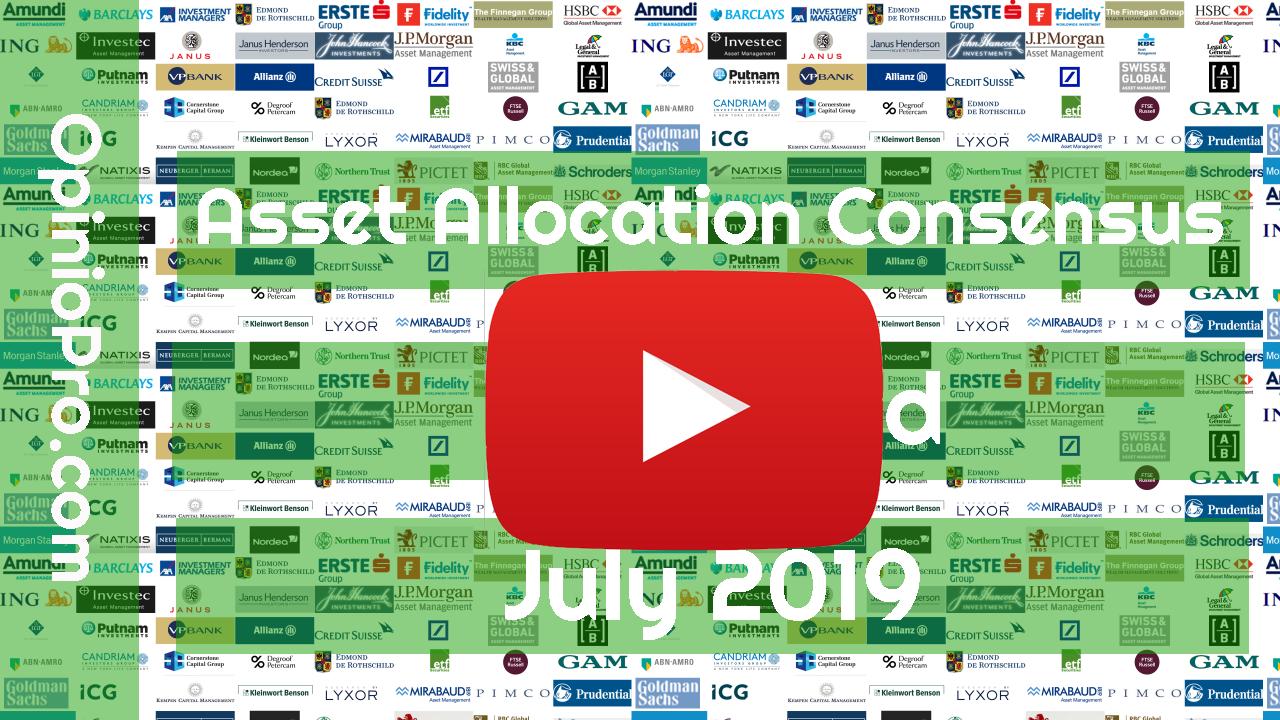 Video's Asset Allocation Consensus Juli