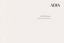 ADIA 2018 Review Prudent Global Growth