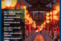 Asia Bulletin: Time is running out to solve China's debt bubble