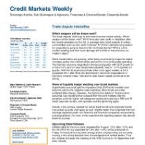 Credit Markets Weekly