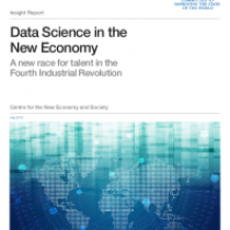 Data Science in the New Economy A new race for talent in the Fourth Industrial Revolution