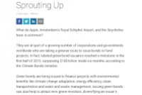 Fixed Income Solutions: Green Bond Opportunities Sprouting Up