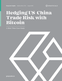 Hedging US-China Trade Risk with Bitcoin