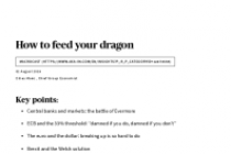 Macrocast – How to feed your dragon