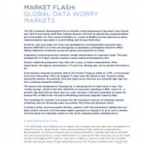 Market Flash: Global Data Worry Markets