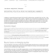 Mounting Political Risksin Emerging Markets