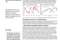 On recent market volatility