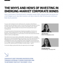 The Whys and Hows of Investing in Emerging-Market Corporate Bonds