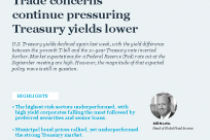 Trade concerns continue pressuring Treasury yields lower