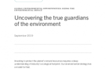 Uncovering the true guardians of the environment