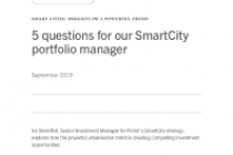 5 questions for our SmartCity portfolio manage