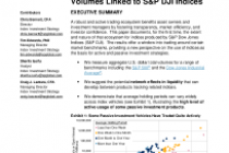 A Window on Index Liquidity: Volumes Linked to S&P DJI Indices