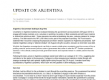 Argentina: Government looking to buy time