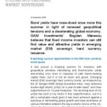 Cycling into Emerging Market Sovereigns