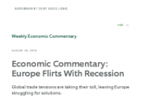 Economic Commentary: Europe Flirts With Recession