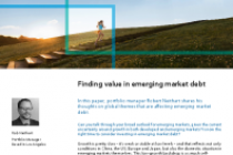 Finding value in emerging market debt