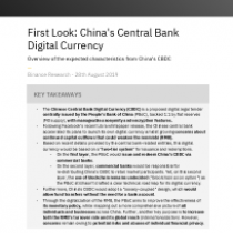 First Look: China's Central Bank Digital Currency