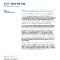 FOMC remains optimistic, cuts rates and monitors