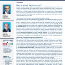 Global Investment Views September
