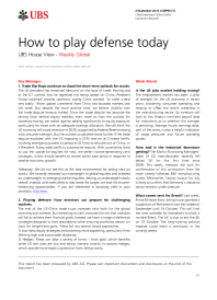 How to play defense today