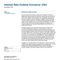 Interest Rate Outlook Eurozone, USA