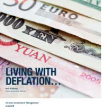 Living With Deflation…