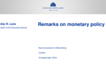 Remarks on monetary policy