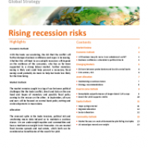 Rising recession risks