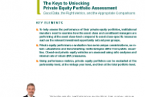 The Keys to Unlocking Private Equity Portfolio Assessment