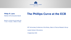 The Phillips Curve at the ECB