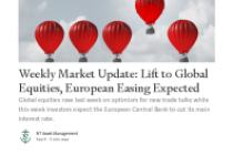 Weekly Market Update: Lift to Global Equities, European Easing Expected