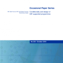 Conditionality and design of IMF-supported programmes