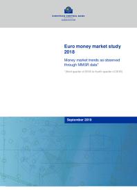 Euro money market study 2018