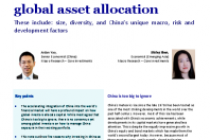 Five reasons why China should be standalone in global asset allocation