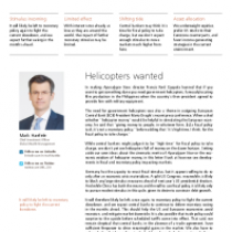 Helicopters wanted