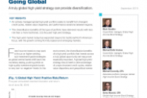 High Yield Bond Opportunities Are Going Global